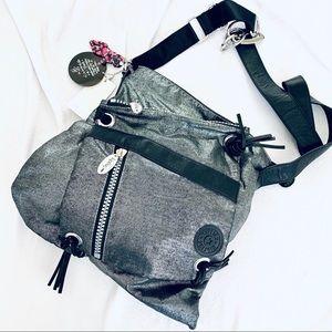 Fergie for Kipling Metallic Cross Body Handbag-NWT